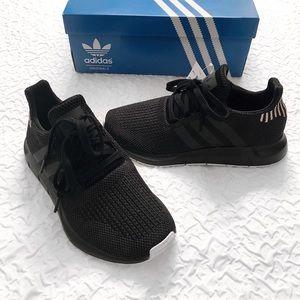 Adidas Black Swift Run Shoes